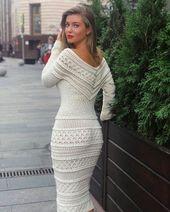 45+ modèles de robes de crochet gratuits pour les femmes nouveau 2019 – Web page 34 of 43 – Crochet Weblog