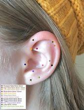 Snug fit nose hoop 6mm 8mm, Triple lobe hoop earrings Set of three 3 Hex helix piercing jewelry, Snug septum ring Silver Small gold hoop – t h i n g s  t o  p u r c h a s e