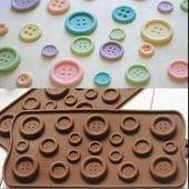 Details about Chocolate Cake Cookie Muffin Jelly Baking Silicone Bakeware Candy Mould Mold