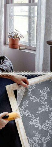 35 Genial DIY Fenster behandlung Ideen und Anleitungen