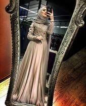 Dress brokat muslimah hijab fashion 22 trendy Idea…