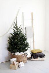 15 Nordic Weihnachtsbaum Dekor Ideen