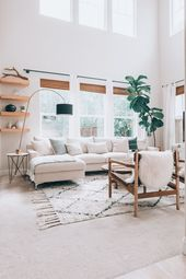A Builder-Basic Rental Home got a warm and inviting makeover