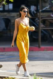 Slip dress with sneakers Get more style and outfit insporation at at www.HerFash…