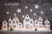 Dekorationen von Noël à imprimer  – Christmas