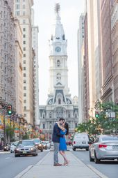 Summer season in Philadelphia Engagement Session Photographs