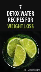 7 Rezepte zur Gewichtsreduktion durch Detox   Fettverbrennendes entgiftendes Wasser …   – detox rezepte