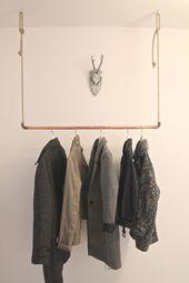 New Wardrobe – DIY – Copper and Rope – #DIY #Copper #negocios #Seal #and #War …  – haus
