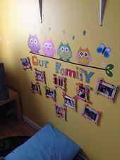 Anzeigen von Familienbildern im Vorschulklassenzimmer – Google-Suche   – Thanksgiving crafts