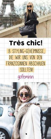 Très chic! 8 Styling-Geheimnisse, die wir uns von den Französinnen abschauen sollten