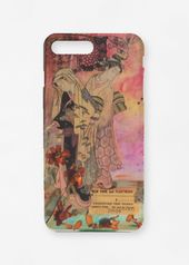 iPhone Case – Geisha Time in Brown/Green/Pink by V…