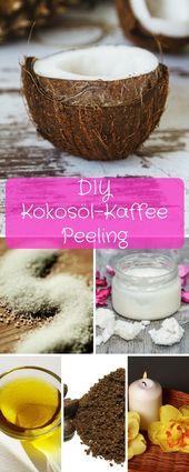 ▷ DIY Body Scrub – Kaffee-Kokosöl-Körperpeeling einfach selbst machen