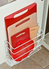 EINFACHE Budget Freundliche Weise zu Organisieren Sie Ihre Küche {Quick Tipps platzsparende Tricks Clevere Hacks & Organisieren von Ideen