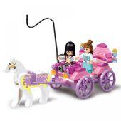 0239 99er Mädchen Traumwagen Konstruktor Modellbausatz Blöcke Kompatibel LEGO Bricks Spielzeug für Jungen Mädchen Kinder Modellieren   – Model Building Kits
