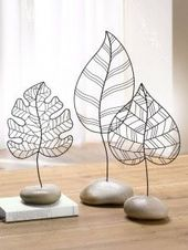 style champetre feuille décorative tendance idees…