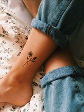 Eine Vielzahl von kleinen Tätowierungen für Frauen – Seite 12 von 35 – Malika Gislason