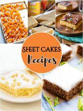Blechkuchen Rezepte – Einfache Blechkuchen   – Baking