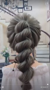Beautiful hairstyle for girl woman long length hair easy simple