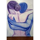 Love Embrace Painting | Arts & Crafts