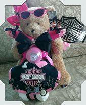 9 leuchtende Tipps: Harley Davidson Custom Motorräder Harley Davidson Frauen Zi…