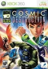 Ben 10 Ultimate Alien Cosmic Destruction Xbox 360 With Images