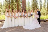Brides imagine having the most appropriate wedding day, however for this they need the best bridal wear, with the bridesmaid's dresses enhancing t...