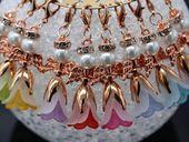 8 Schutzengel  Anhänger Glücksbote mit Strass Elegance Gastgeschenke Hochzeit