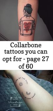 Collarbone tattoos you can opt for – page 27 of 60