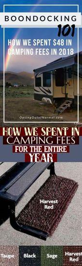 camp pareja Hur vi tillbringade campingavgifter för hela året amp; #camping wie w …