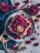 Einfache vegane Waffeln – Bianca Zapatka | Foodblog • Gesunde Rezepte!