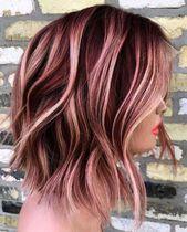 Haarfarbe Ideen für kurze dunkle braune Haare genug Beste Haarfarbe Ideen für dunkle braune Haare