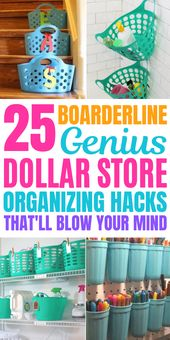 25 Mind Blowing Dollar Store Hacks You Need To Try Today (Dollar Tree Finds)