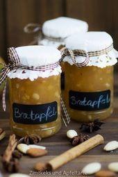 Minha geléia de maçã assada – simples e deliciosa   – Im Glas: Kochen, Einlegen, Backen und Verschenken