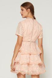 تسوق فستان ذا كولوسل قصير موسمان برتقالي للنساء نسناس السعودية Mini Dress Fashion Dresses With Sleeves