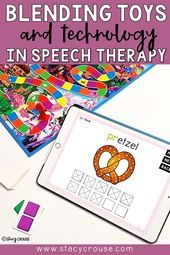Blending Toys and Technology in Speech Therapy