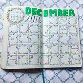 15 Layout-Ideen für das Christmas Bullet Journal + KOSTENLOSE druckbare Weihnachts-Header   – Sketchnotes und Bullet Journal