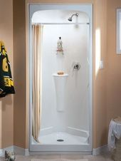 32 Inch Shower Stall From Fiberglass Small Shower Stalls