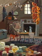 JAHNA VASTHI – Illustrations pour un livre pour enfants Moscou, Russie2015 #JahnaVast …   – Children's book