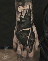 55 Castle Tattoo Art Designs