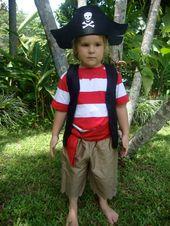 Diy Boy Pirate Costume Pirate costume