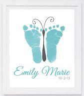 Babyabdruckkunst, druckt für immer eigenhändig u…