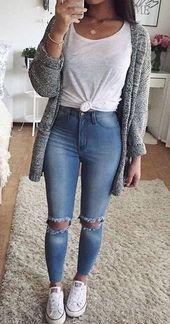 31 beste Teenager & # 39; Lässige Outfits in der Welt von Vans Teen sind voller Freude. Es ...