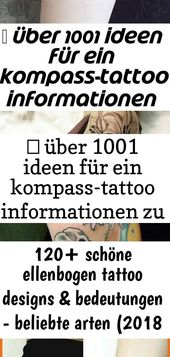 ▷ über 1001 Ideen für eine Kompass-Tätowierung mit Informationen zu deren symbolischen Bedeutungen, # was 18 bedeutet   – Tattoos