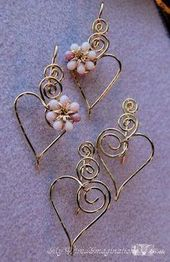 Charming Hearts 2 Earrings in Pink by Bobb… | Je…