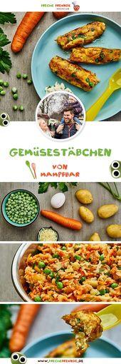 Einfache Gemüsestäbchen für Kinder – Rezeptideen