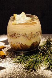 Rezept: Das Dessert für die Weihnachtstafel einmal Apfel Zimt Creme