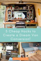 5 Cheap Hacks for Dream Van Conversion — The Indie Projects