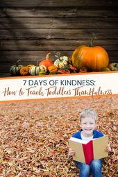 Thanksgiving für Kleinkinder – >> Thanksgiving