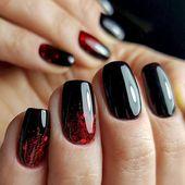 57 elegante schwarze Nail Art Designs, die Sie lieben werden #designs #elegante …
