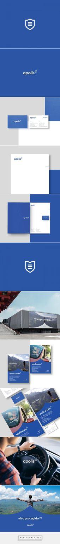 apolis en Behance – creado a través de pinthemall.net   – Logo Design